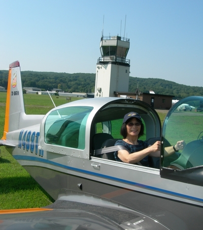 Rosa at Danbury Airport